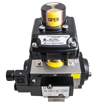 Actuated ball valve limit switch tilt 1