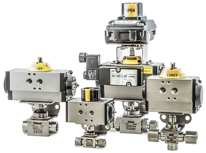 Actuated Ball Valves Cover