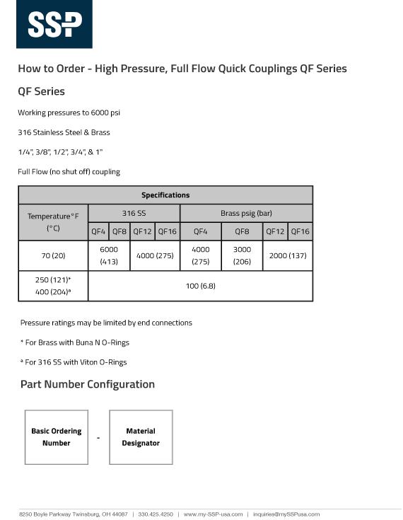 High-Pressure-Full-Flow-Quick-Couplings