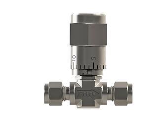 Vernier handle metering value