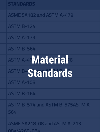 material-standards