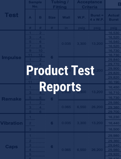 product-test-reports